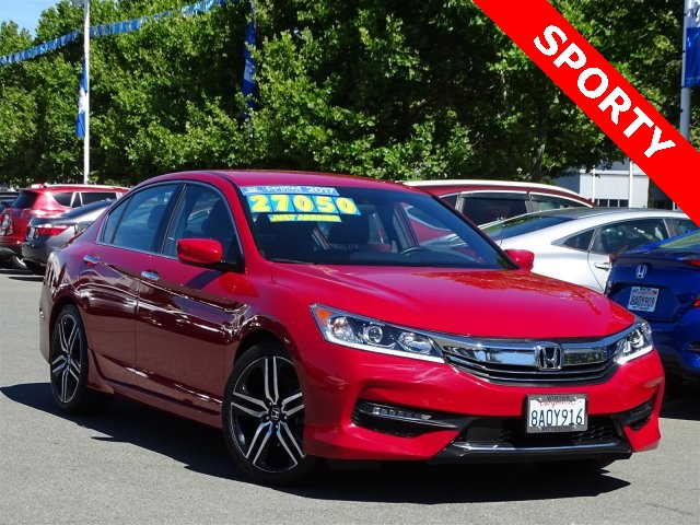 Certified Pre Owned 2017 Honda Accord Sport