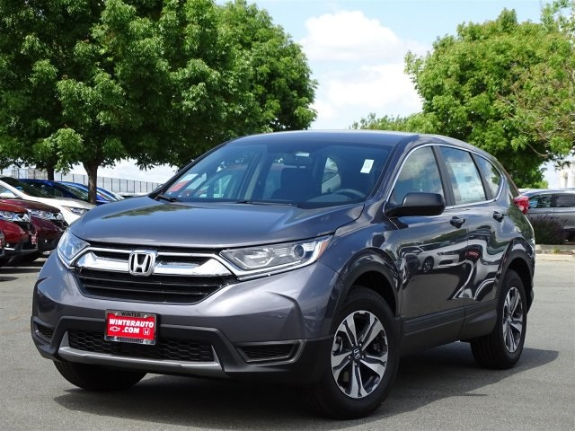 New 2018 Honda Cr V Lx 4d Sport Utility In Pittsburg 93310 Winter