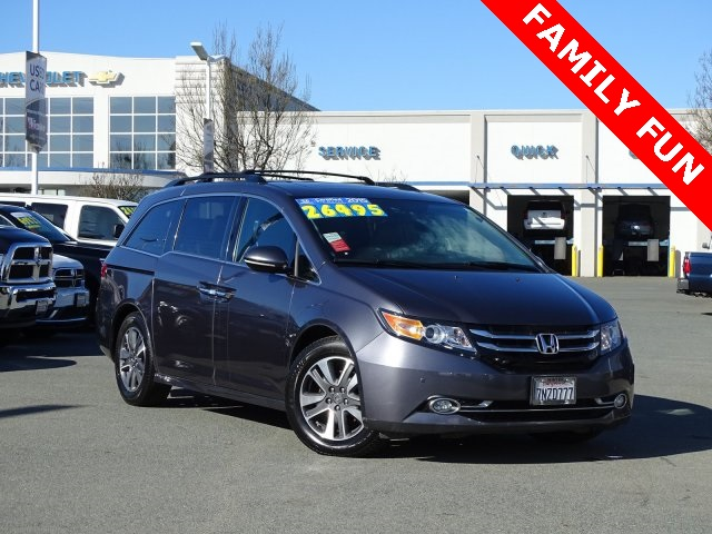 Certified Pre-Owned 2015 Honda Odyssey Touring Elite