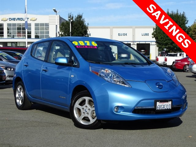 Pre Owned 2012 Nissan Leaf Sl 4d Hatchback In Pittsburg 93648a